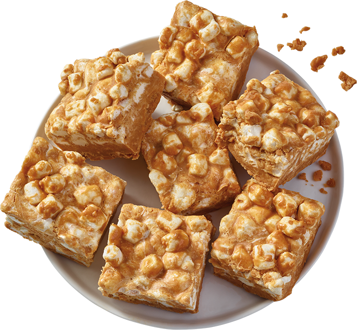 Peanut Butter Marshmallow Squares