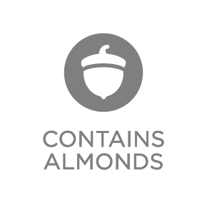 Contains Almonds