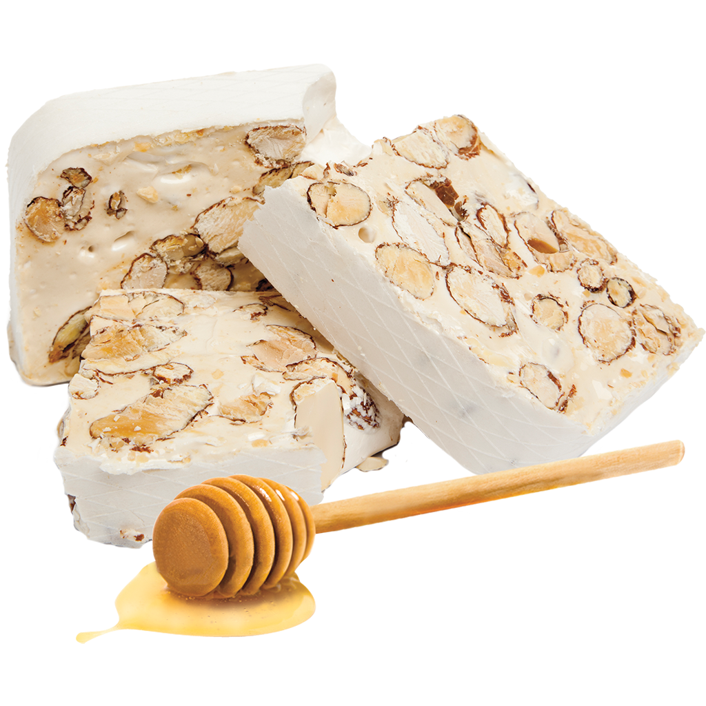 Peanut Nougat with Almond Butter & Honey Gelato