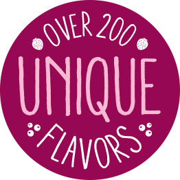 Over 200 Unique Flavors