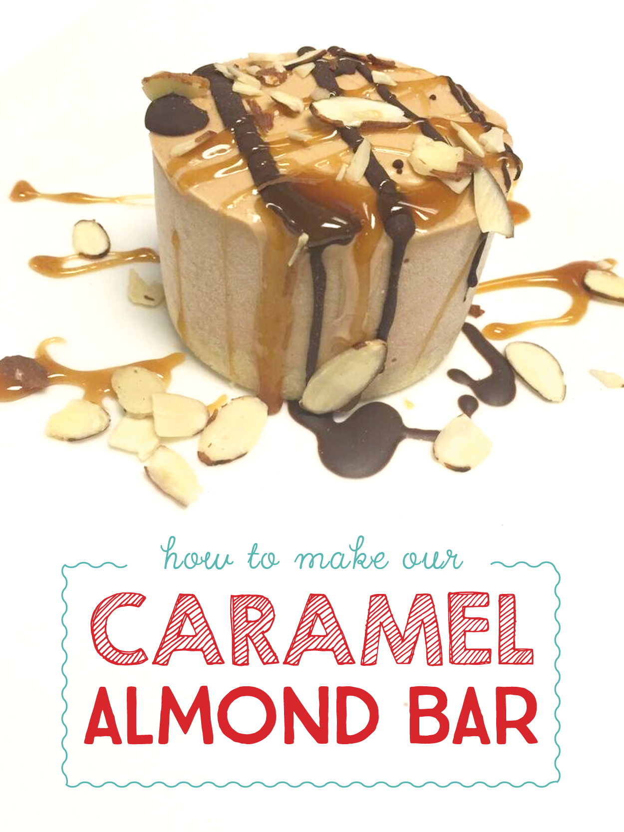 ... Caramel Almond Bar with Shortbread Cookie Crust. For the full recipe