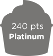 240 points Platinum