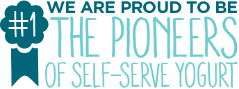 We are proud to be the pioneers of self-serve yogurt