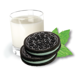 Oreo Mint Cookies & Crème Ice Cream