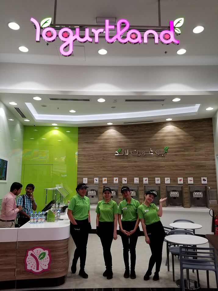 Yogurtland Expands its International Presence