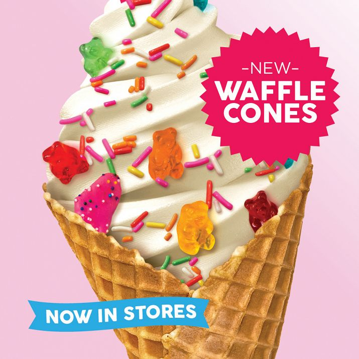 Have a Waffle Lot of Fun With Yogurtland