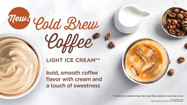 Yogurtland's Fall Line Up Debuts Cold Brew Coffee Flavor