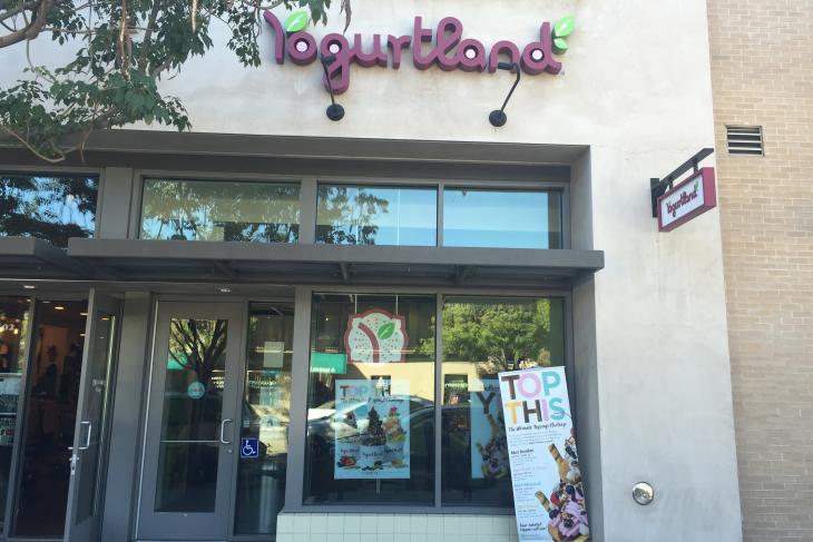 Yogurtland Locations Claremont